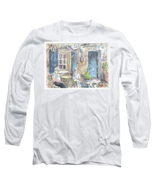 Breakfast Al Fresco Long Sleeve T-Shirt