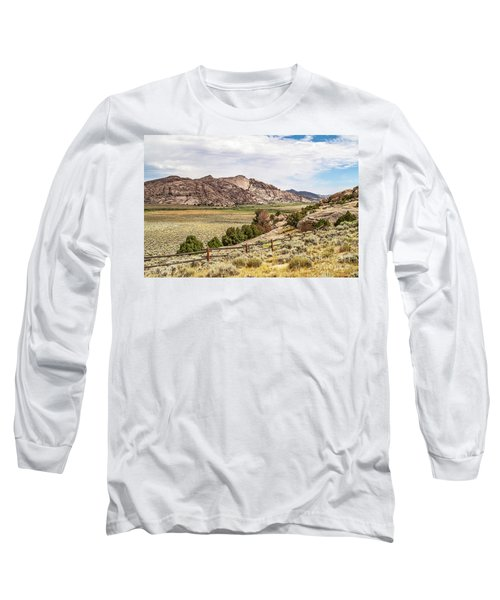 Breathtaking Wyoming Scenery Long Sleeve T-Shirt