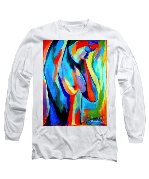 Broken Woman Long Sleeve T-Shirt