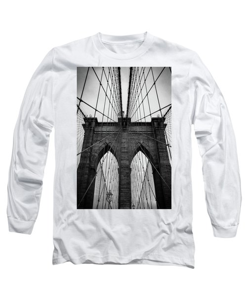 Brooklyn Bridge Wall Art Long Sleeve T-Shirt