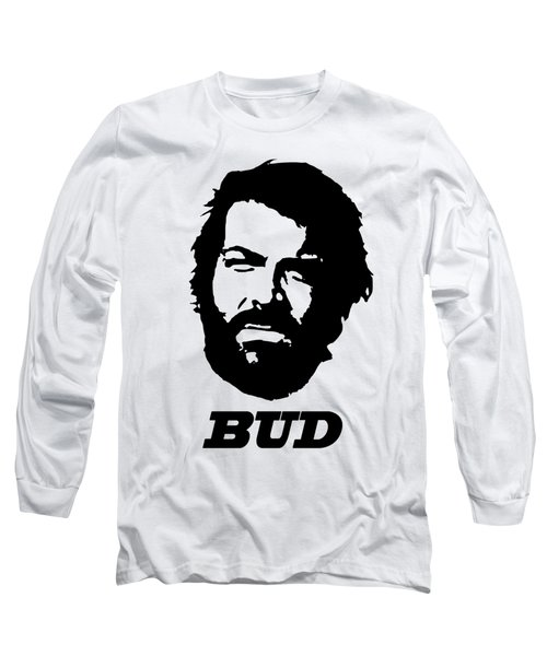 Bud Spcencer Minimalistic Pop Art Long Sleeve T-Shirt