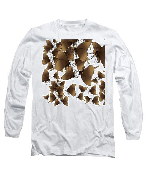 Butterfly Patterns 1 Long Sleeve T-Shirt