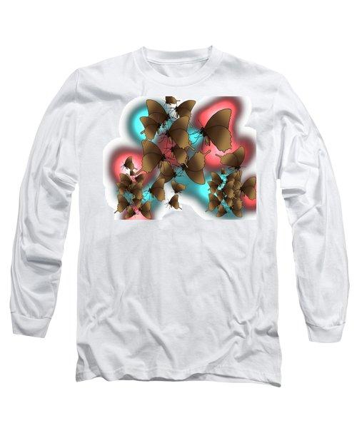 Butterfly Patterns 11 Long Sleeve T-Shirt