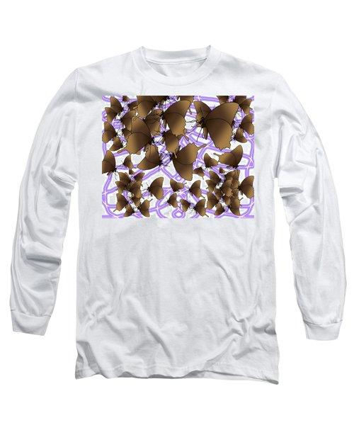 Butterfly Patterns 12 Long Sleeve T-Shirt