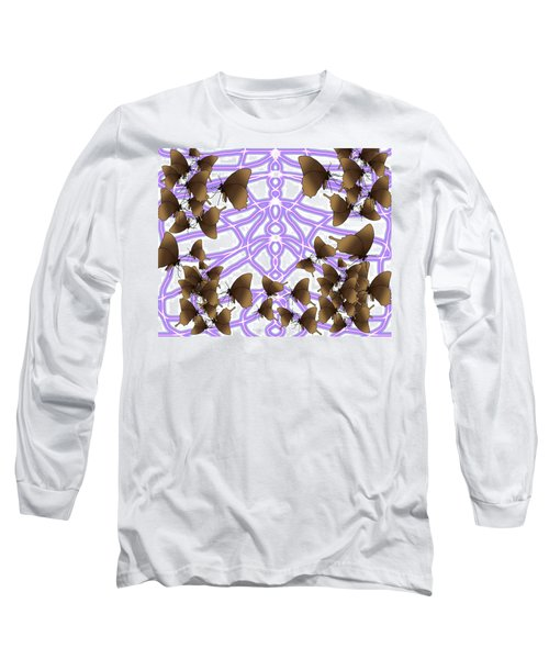 Butterfly Patterns 14 Long Sleeve T-Shirt