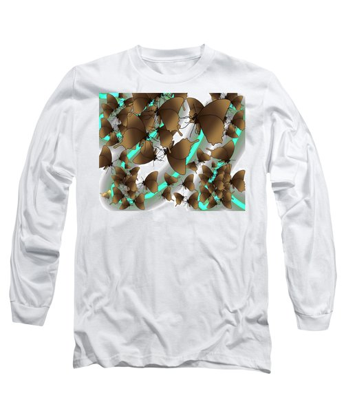 Butterfly Patterns 2 Long Sleeve T-Shirt