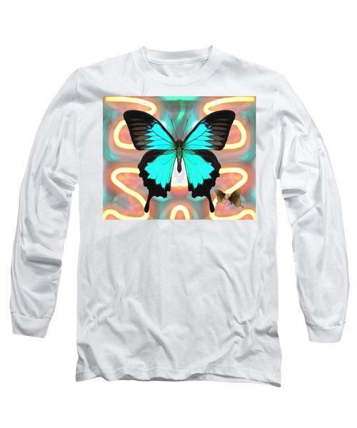 Butterfly Patterns 21 Long Sleeve T-Shirt