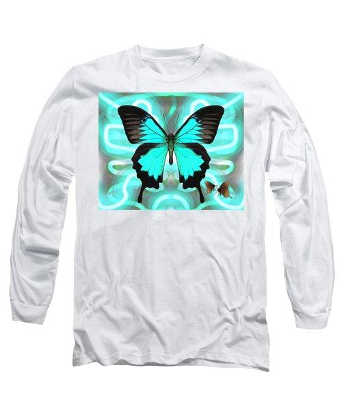 Butterfly Patterns 22 Long Sleeve T-Shirt