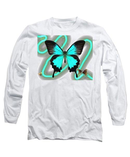 Butterfly Patterns 23 Long Sleeve T-Shirt