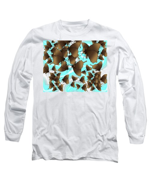 Butterfly Patterns 6 Long Sleeve T-Shirt