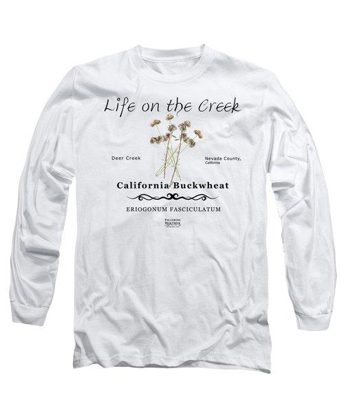 California Buckwheat Long Sleeve T-Shirt