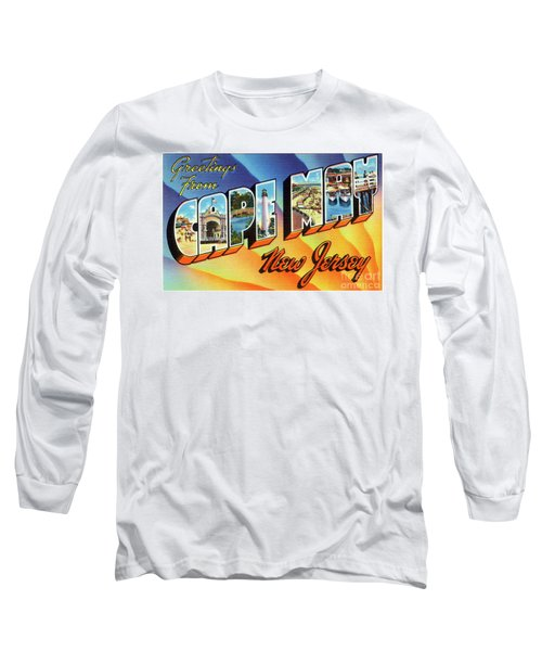 Cape May Greetings - Version 1 Long Sleeve T-Shirt