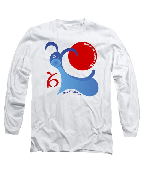Capricorn - Goat Long Sleeve T-Shirt