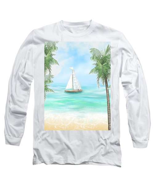 Carribean Bay Long Sleeve T-Shirt