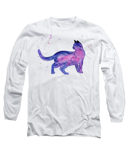 Cat In Space Long Sleeve T-Shirt
