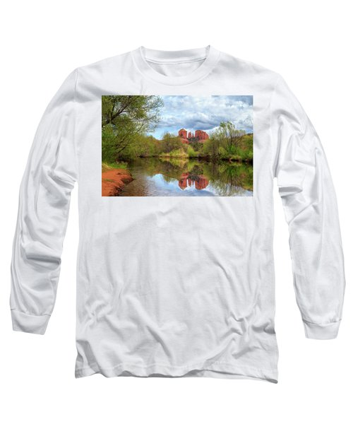 Cathedral Rock Reflection Long Sleeve T-Shirt