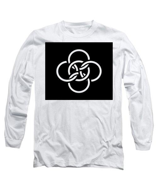 Celtic Five Fold Symbol 2 Long Sleeve T-Shirt