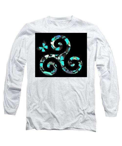Celtic Spiral 3 Long Sleeve T-Shirt