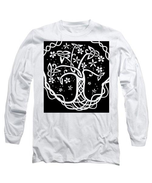 Celtic Tree Of Life 3 Long Sleeve T-Shirt