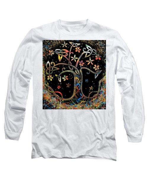 Celtic Tree Of Life Long Sleeve T-Shirt