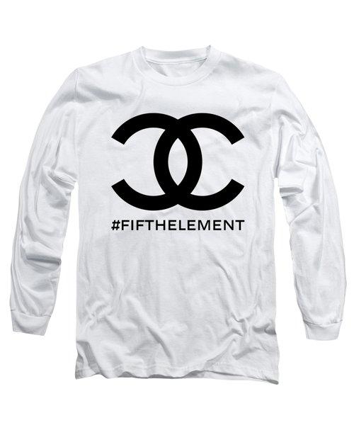 Chanel Fifth Element-1 Long Sleeve T-Shirt