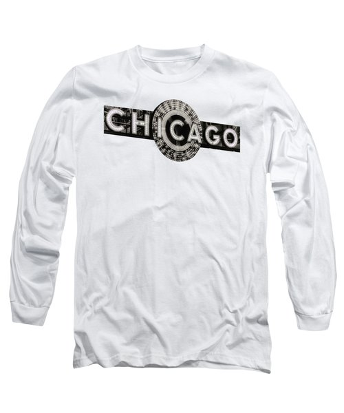 Chicago Theater Marquee - T-shirt Long Sleeve T-Shirt