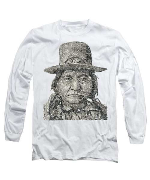Chief Sitting Bull Long Sleeve T-Shirt