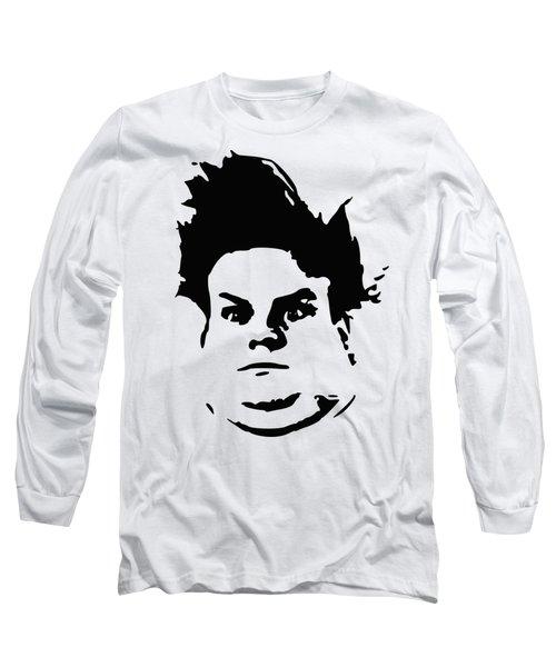 Chris Farley Minimalistic Pop Art Long Sleeve T-Shirt