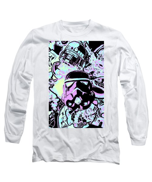 Cinematic Sci-fi Long Sleeve T-Shirt