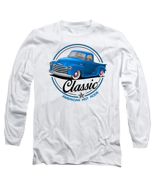 Classic American Hot Rod Long Sleeve T-Shirt