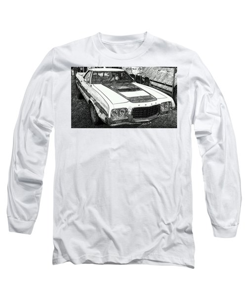 Classic Ford Sketch Long Sleeve T-Shirt