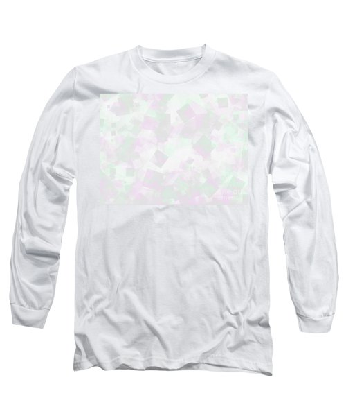 Long Sleeve T-Shirt featuring the photograph Clear Amour Snuff Mint by Rockin Docks