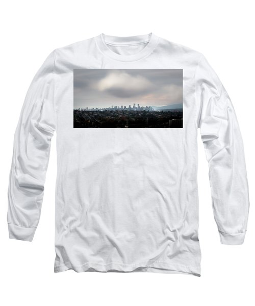 Cloud On Vancouver  Long Sleeve T-Shirt