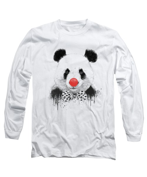 Clown Panda Long Sleeve T-Shirt
