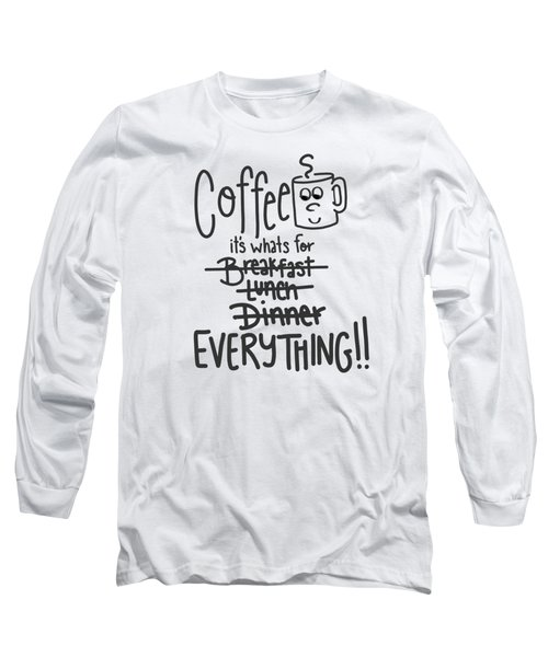 Coffee1 Long Sleeve T-Shirt