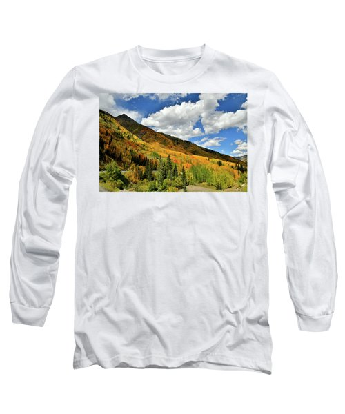 Color In The Spotlight At Red Mountain Pass Long Sleeve T-Shirt