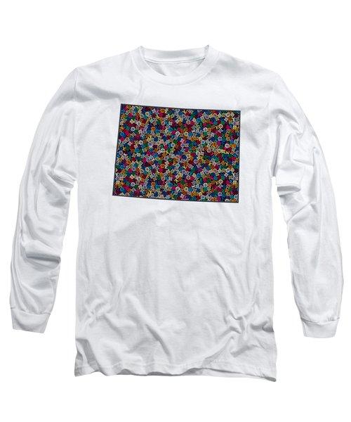 Colorado Map - 1 Long Sleeve T-Shirt