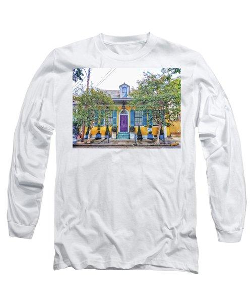 Colorful Nola Long Sleeve T-Shirt