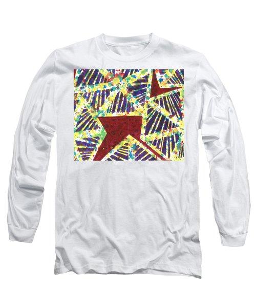 Colourful Webs  Long Sleeve T-Shirt