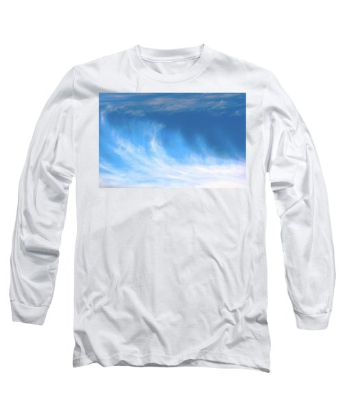 Colours. Blue Long Sleeve T-Shirt