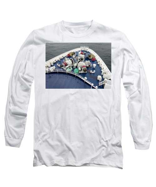 Colours. Sea Green Long Sleeve T-Shirt