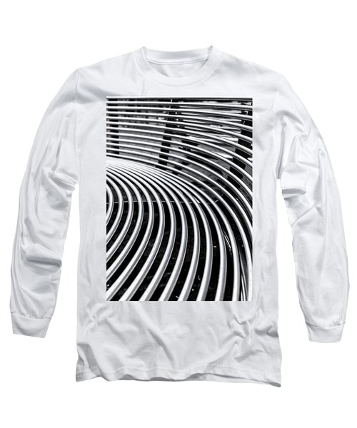 Colours. Silver Long Sleeve T-Shirt