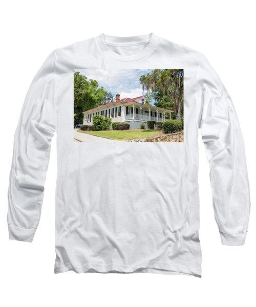 Columbia County Visitors Center - Savannah Rapids Long Sleeve T-Shirt