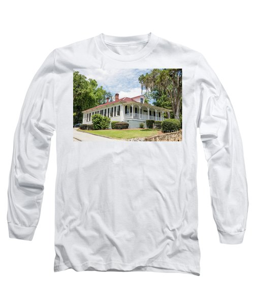 Columbia County Visitors Center - Savannah Rapids Long Sleeve T-Shirt