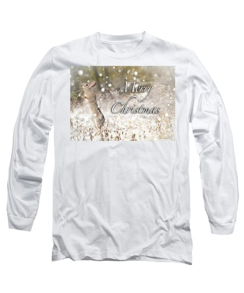 Conttontail Christmas Long Sleeve T-Shirt