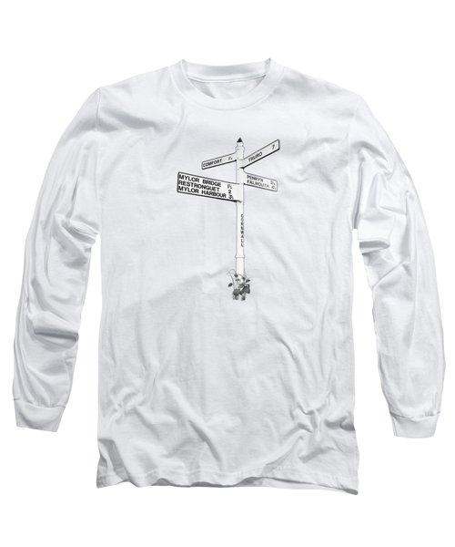 Cornish Signpost Comfort Long Sleeve T-Shirt