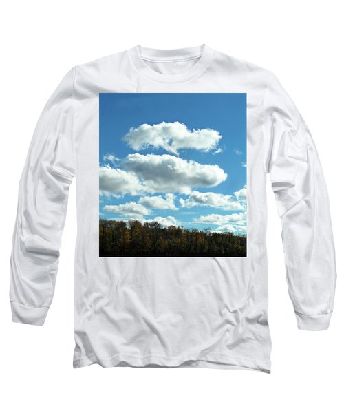 Country Autumn Curves 11 Long Sleeve T-Shirt
