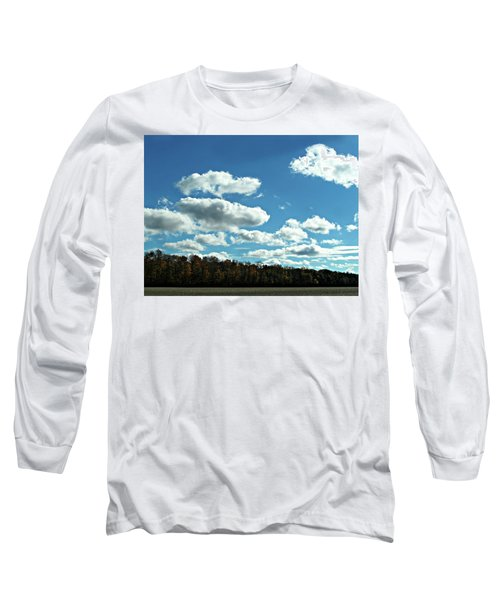 Country Autumn Curves 12 Long Sleeve T-Shirt