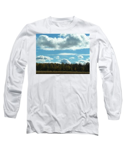 Country Autumn Curves 8 Long Sleeve T-Shirt