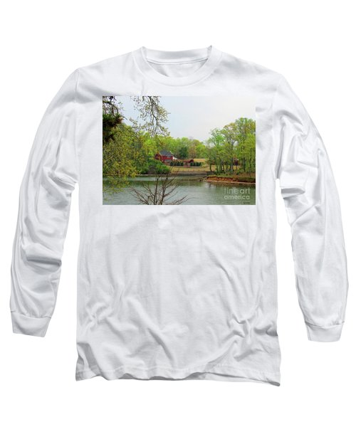 Country Living On The Tennessee River Long Sleeve T-Shirt